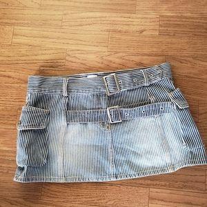 Bide and Sass striped Jean skirt